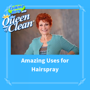 amazing uses for hairspray