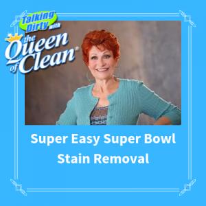 remove guacamole stain