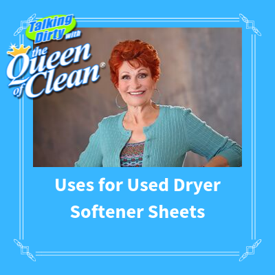 Uses for Used Dryer Softener Sheets