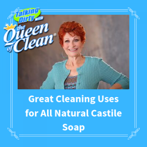 all natural castile soap for cleaning