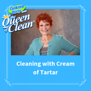 cleaning with cream of tartar and vinegar