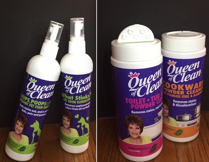 SNEAK PEEK…….. Coming soon, Queen of Clean Products!