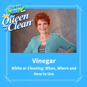 how to use vinegar to clean