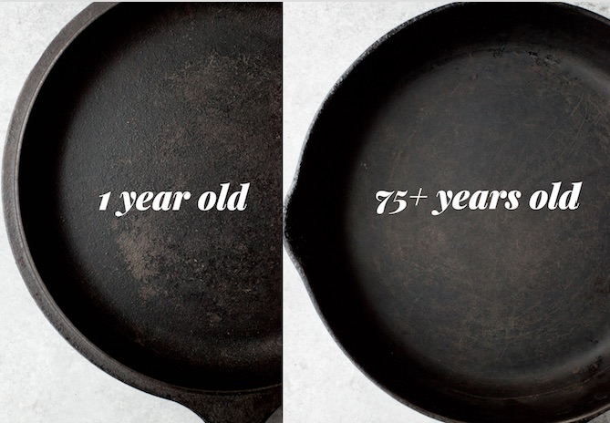 STEP BY STEP GUIDE TO CAST IRON CARE AND CLEANING
