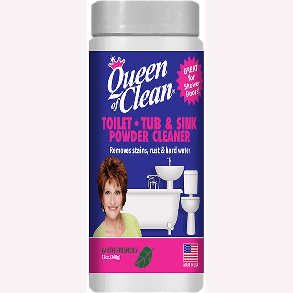 Toilet, Tub, & Sink Powder Cleaner - The Queen of Clean