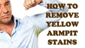 removing underarm stains