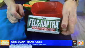 Fels-Naptha Bar Soap Uses