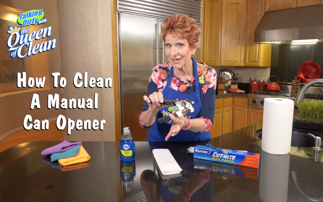 Cleaning A Manual Can Opener – VIDEO