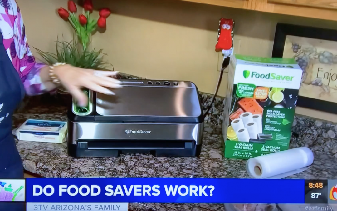 THE FOOD SAVER – DOES IT WORK?  – Video
