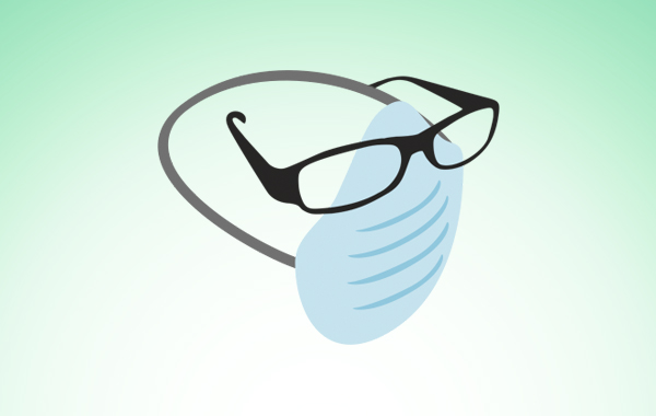 Preventing your Glasses from Fogging When Wearing a Mask
