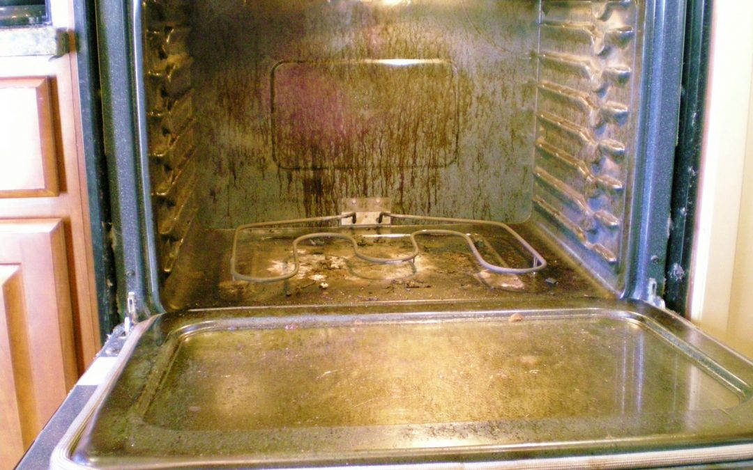 How To Clean a DIRTY OVEN – Video
