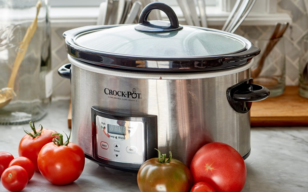 SLOW COOKER / CROCK POT CLEANING and Deodorizing