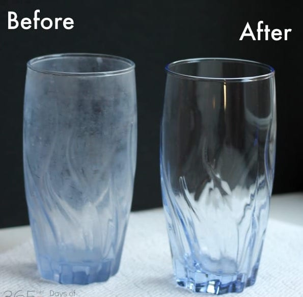 How To Remove CLOUDY FILM From GLASSES In The DISHWASHER