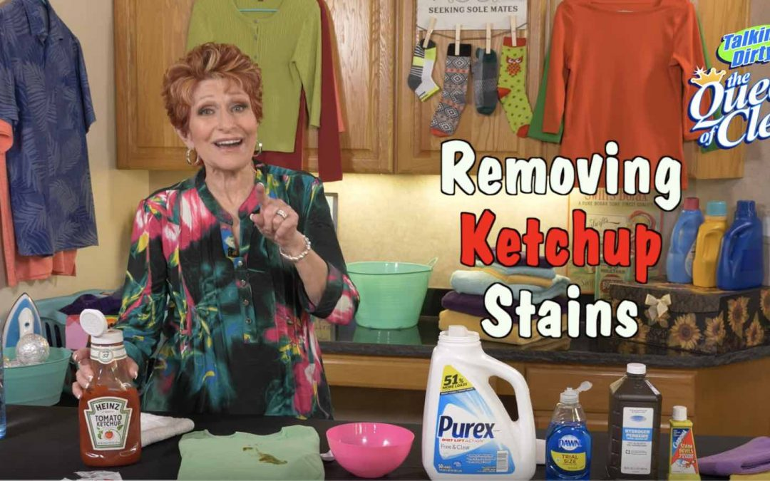 KETCHUP SPOTS, Spills & Stains on Fabric – Video